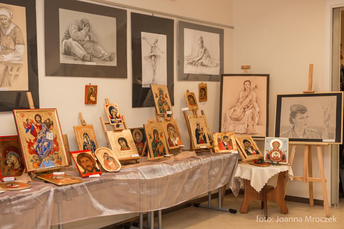 Wernisaz wystawy ikon i rysunku