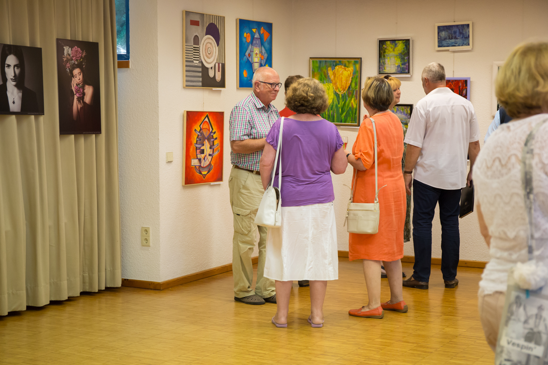 Wystawa w Waldbronn