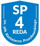 Szkoła Podstawowa nr 4 w Redzie - logo